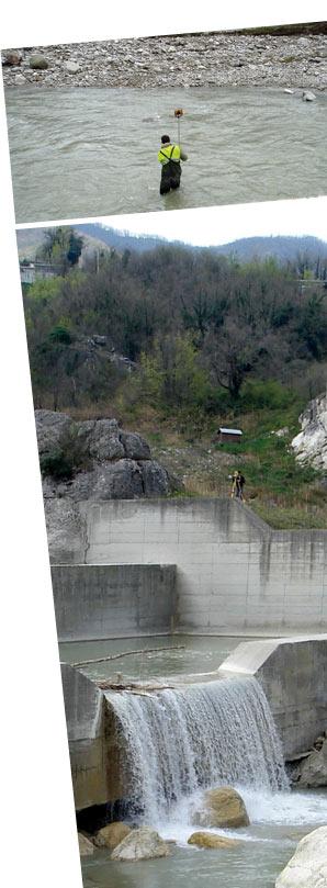 Rilevamenti Topografici in ambito fluviale